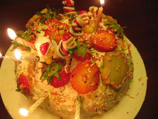 ママの誕生日ケーキ8